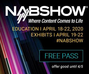 NAB Show 2020