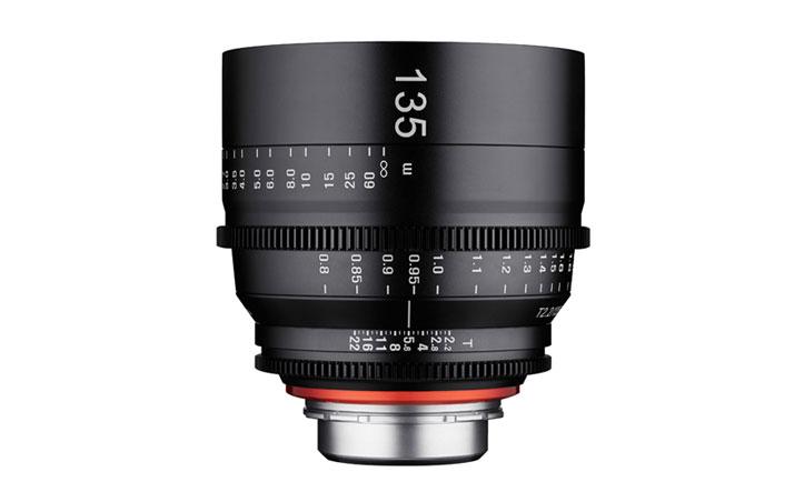 XEEN 135 mm T2.2 para 4K