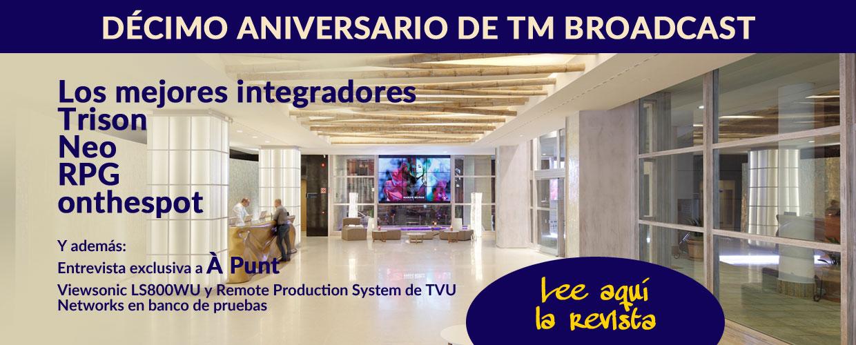 Lee aquí la revista TM Broadcast