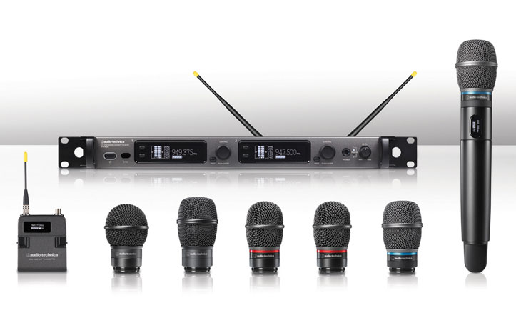 Nuevo transmisor de mano de la serioe 6000 de Audio-Technica