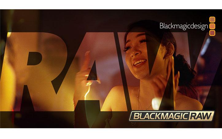 Nuevo formato Blackmagic RAW