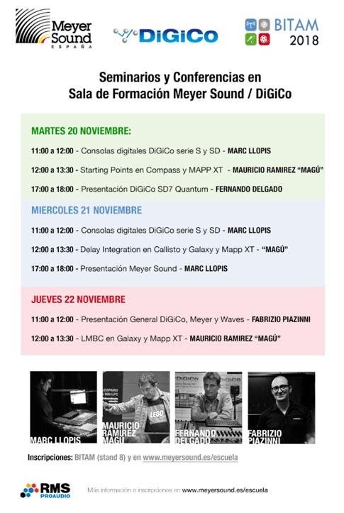 Meyer Sound, DiGiCo, BITAM Show 2018