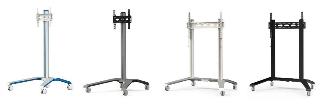 La compañía B-Tech presentará esta nueva gama de Trolleys en la feria ISE