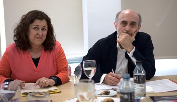 Alberto de Prada y Lola Alfonso debaten en el Desayuno Informativo TM Broadcast