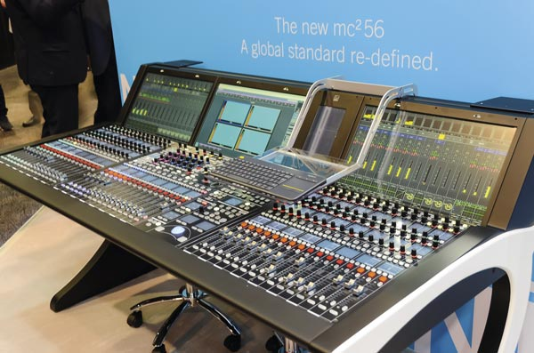 El NAB 2018 acogió la presentación de la mesa de mezcla mc2 56 de Lawo