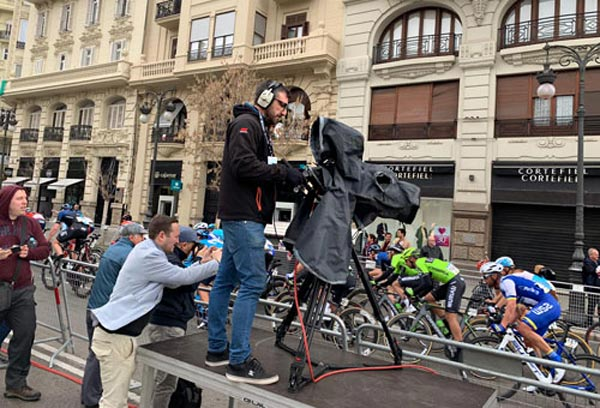 MEDIAPRO produce audiovisualmente la Vuelta Ciclista a la Comunidad Valenciana