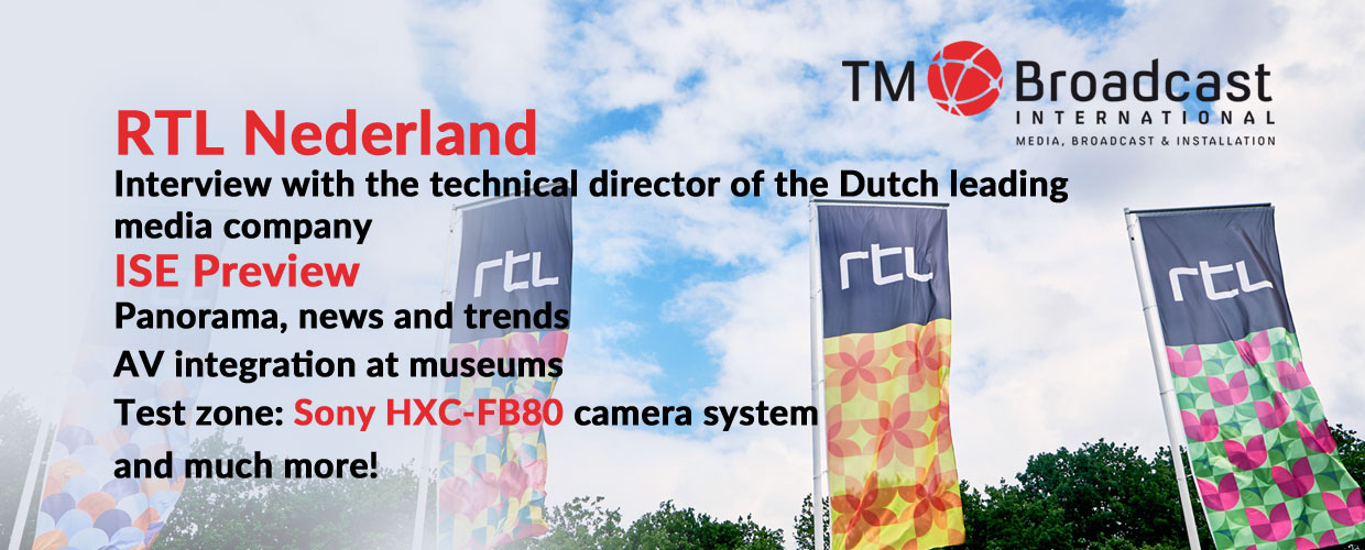 RTL Nederland in TM Broadcast