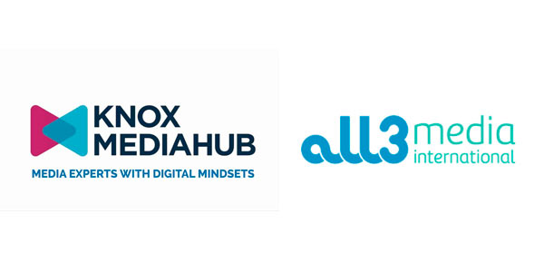 Logotipos de Knox Mediahub y All3media international