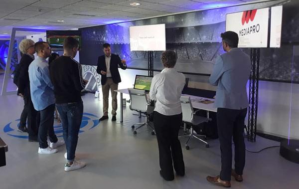 El último LaLiga Innovation Showcase, con la colaboración de Mediapro, fue celebrado en el estadio del Espanyol de Barcelona