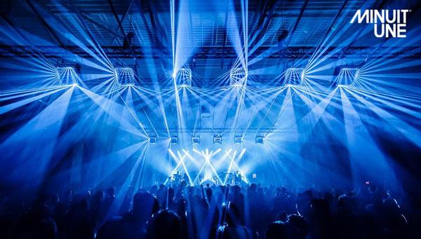 Sistema de iluminacióncompuetos de la marca Minuit Une