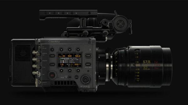 Sistema de cámara profesional de Sony, Venice