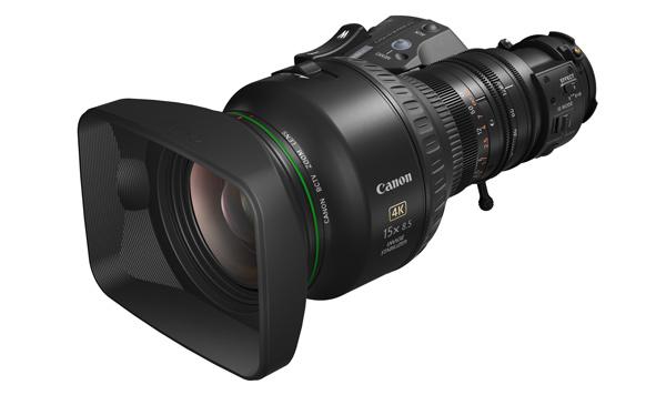 Objetivo Canon para broadcast profesional CJ15ex8