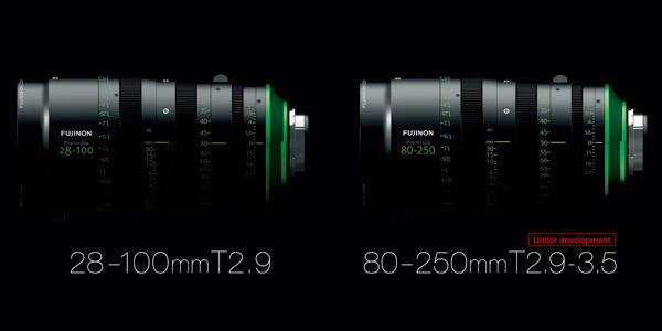 Las dos primeras lentes de la familia de productos Fujinon Premista de Fujifilm