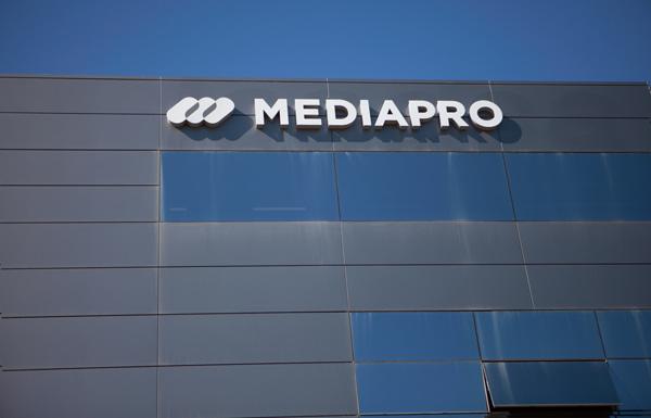 Imagen exterior de la sede de Mediapro