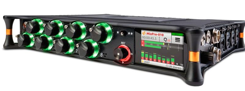 Vista general del MixPre10T Sound Devices