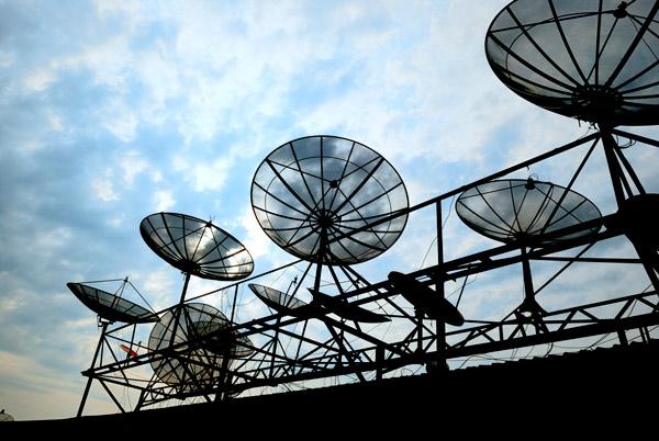 Sistemas de antenas utilizado para trasmisión