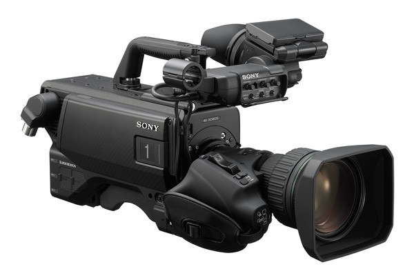 Cámara 4K de Sony HDC-5500 presentada en el NAB Show 2019