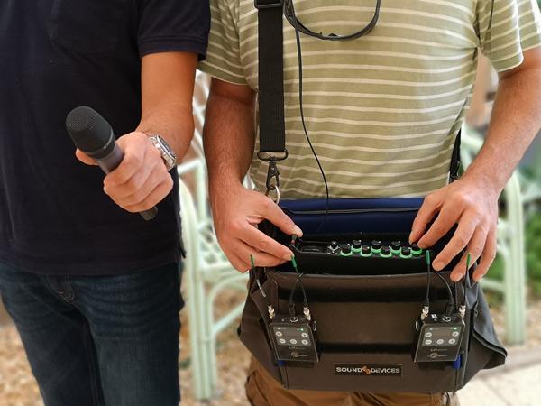 El MixPre10T de Sound Devices puede ser utilizado en exteriores
