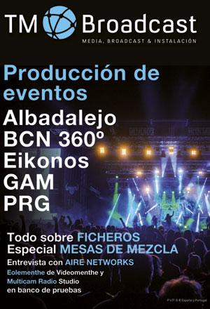Especial producción de eventos en TM Broadcast