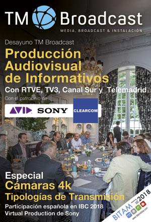 Producción audiovisual de informativos