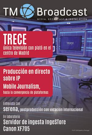 Trece TV en TM Broadcast