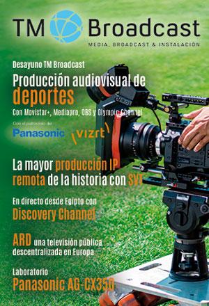 Producción audiovisual de deportes en TM Broadcast