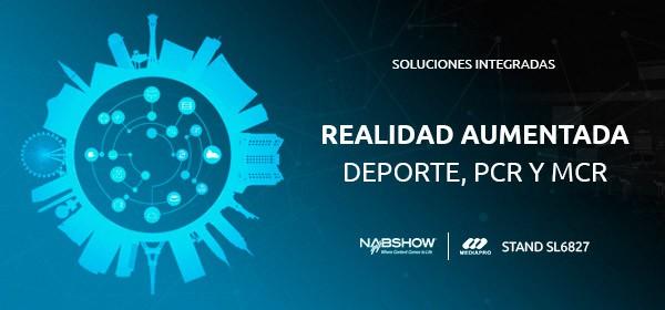 wTVision presenta sus herramientas de realidad aumentado en la feria NAB Show 2019