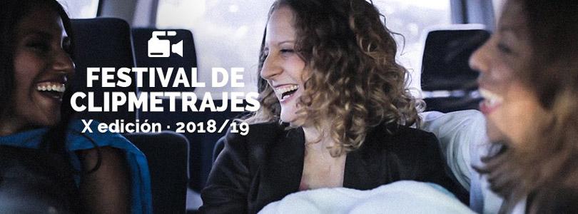 Cartel promocional del concurso de clipmetrajes de Manos Unidas
