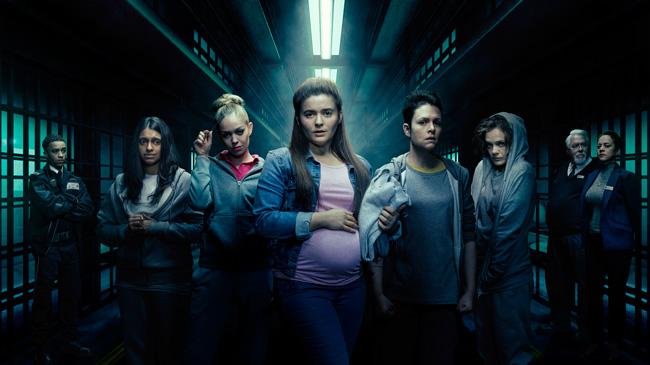 Imagen promocional de la nueva serie dramática de Channel 5, Clink