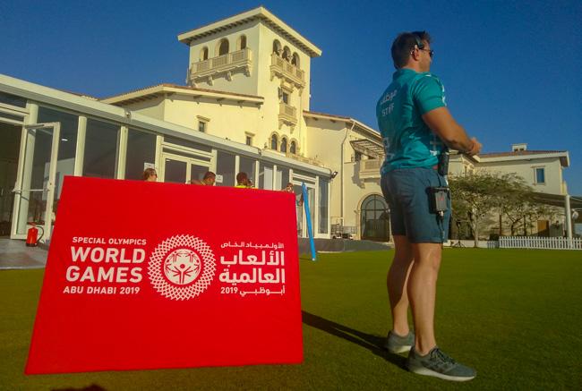 Los equipos de Riedel fueron utilizados en los Special Olympics World Games celebrados en Abu Dhabi