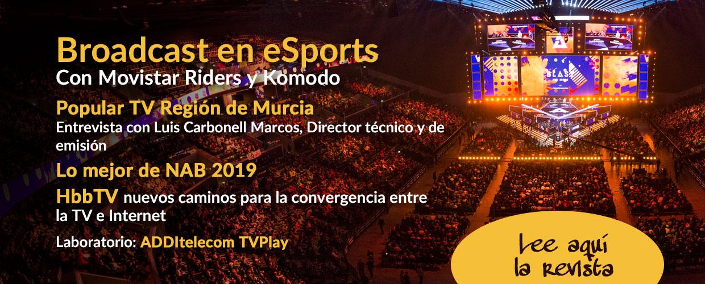 eSports en TM Broadcast