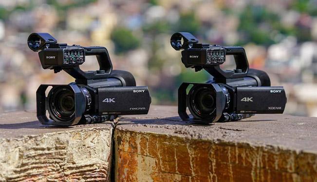 Modelos HXR NX80 y PXQ Z90 de Sony
