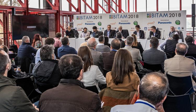 Una de las conferencias albergadas en la feria BITAM Show 2018