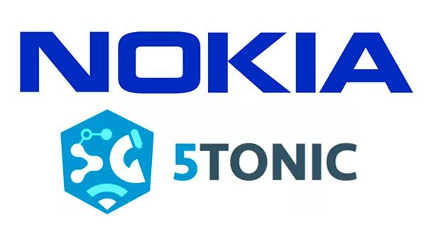 Logotipos de Nokia y 5Tonic