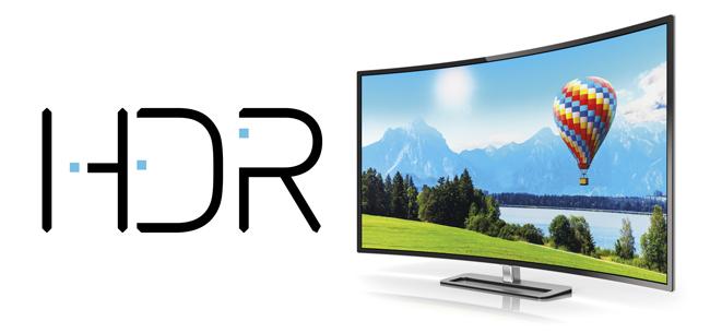 Apertura del artículo sobre HDR con una televisión