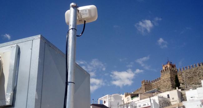 12 son los puntos que garantizan acceso WiFi a la localidad de Serón (Almería)