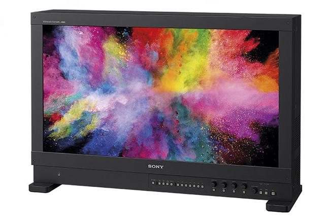 Monitor maestro profesional de Sony BVM-HX310 TRIMASTER HX™ 4k de 31 pulgadas