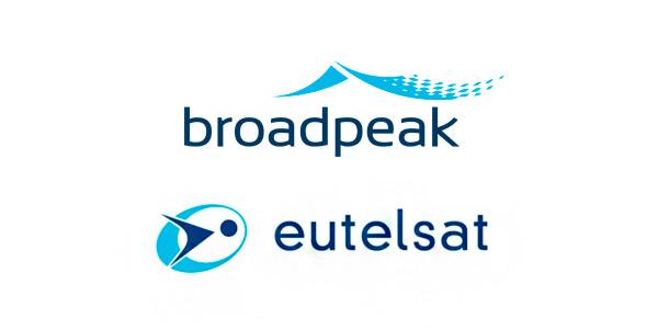 Logos de Eutelsat y Broadpeak