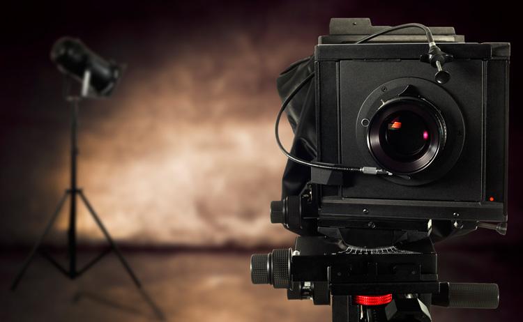 Estudio de grabación y cámara utilizada para la producción audiovisual