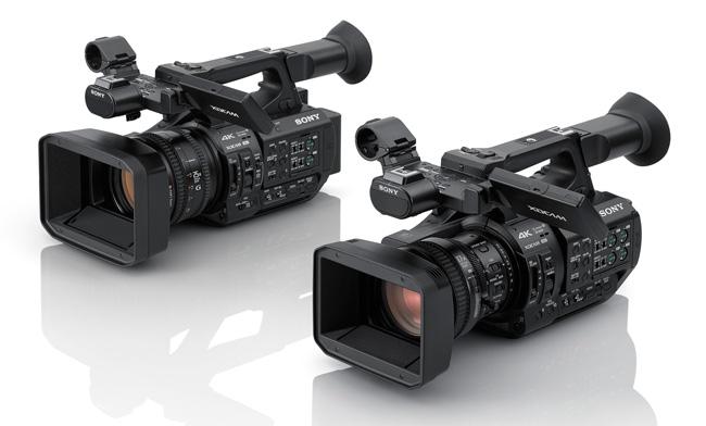 Camcorders PXWZ280 y PXWZ190 de Sony
