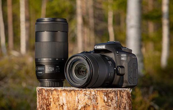 Fotografía promocional de Fergus Kennedy de la Canon EOS-90D
