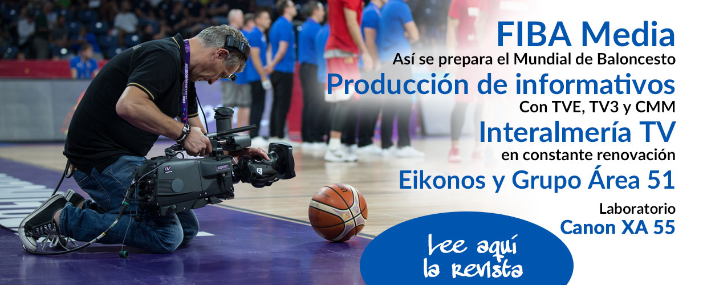 FIBA Media en TM Broadcast