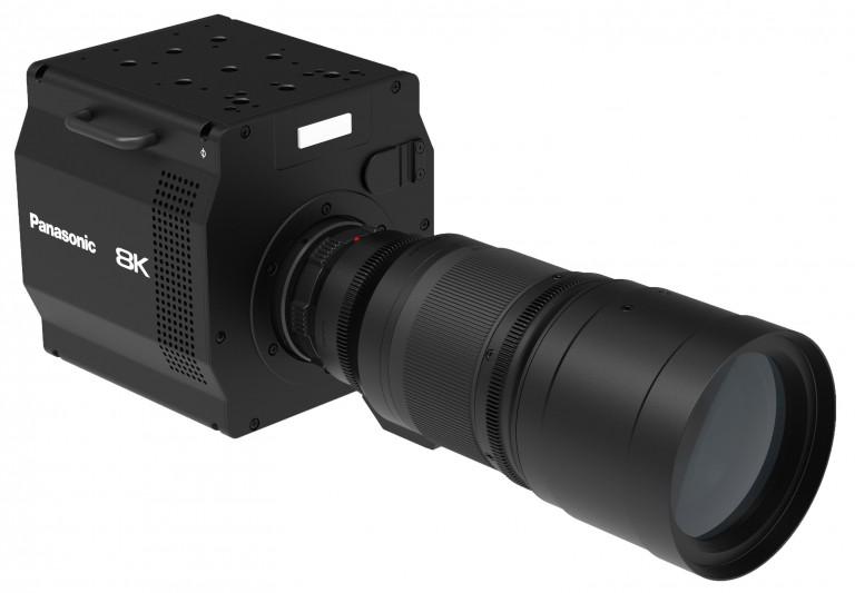 Panasonic AK-SHB800GJ, parte del sistema 8K ROI