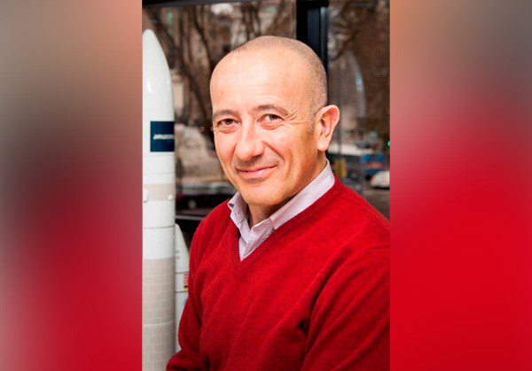 Sergio Elia, responsables de ventas de Hispasat