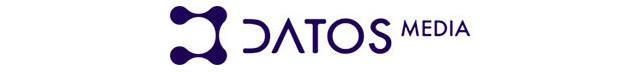 Logo de Datos Media, patrocinador del Desayuno TM Broadcast Septiembre 2019