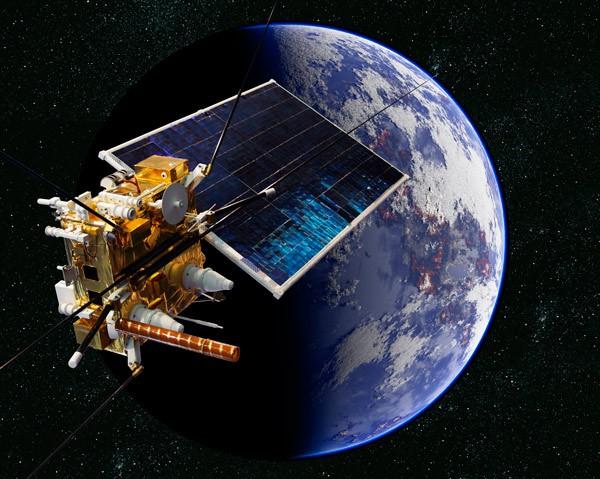 Render de un satélite (imagen de archivo)