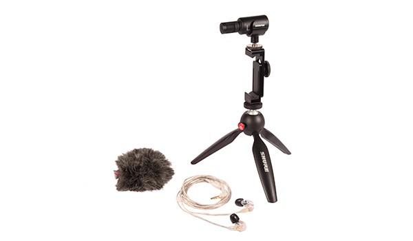 Pack para la creación de vídeo digital de Shure con el MV88