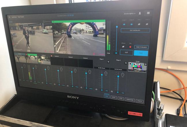 El flujo de trabajo del Maratón de Berlín se controló a través de una solución virtualizada de Sony