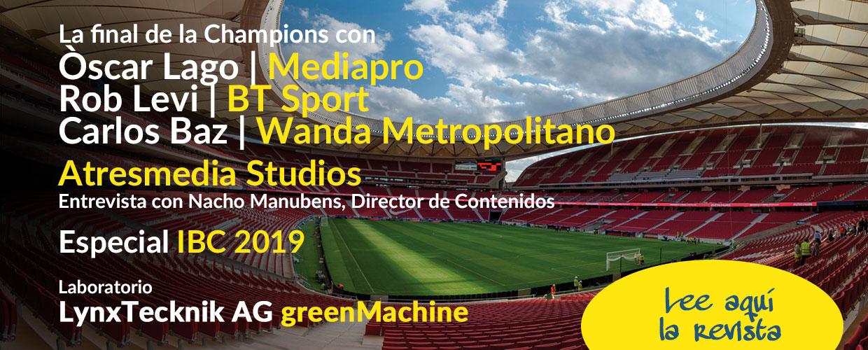Especial Champions con Mediapro, BT Sport y Wanda Metropolitano