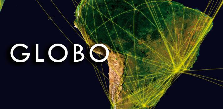 Televisión Globo TV de Brasil apertura artículo mapa y redes
